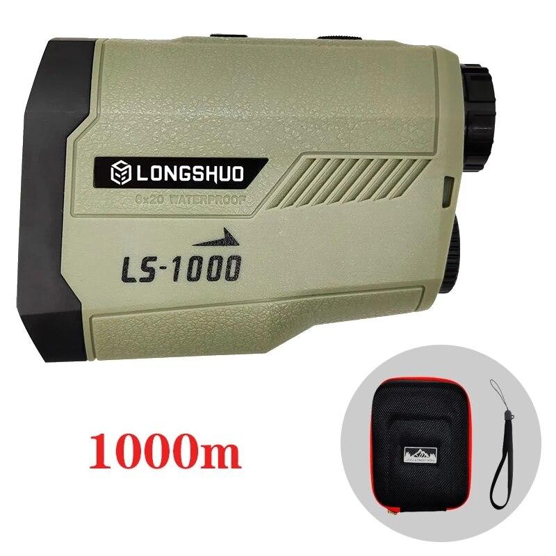 longshuo Laser Rangefinder for Hunting Slope Flag-Lock slope pin Golf laser rangefinder Laser Distance meter